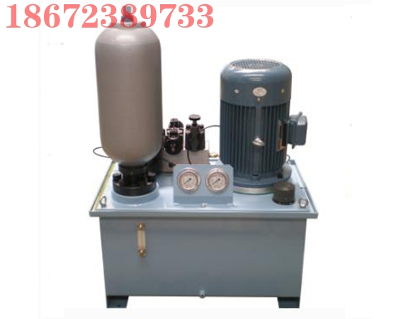 囊式蓄能器液压站